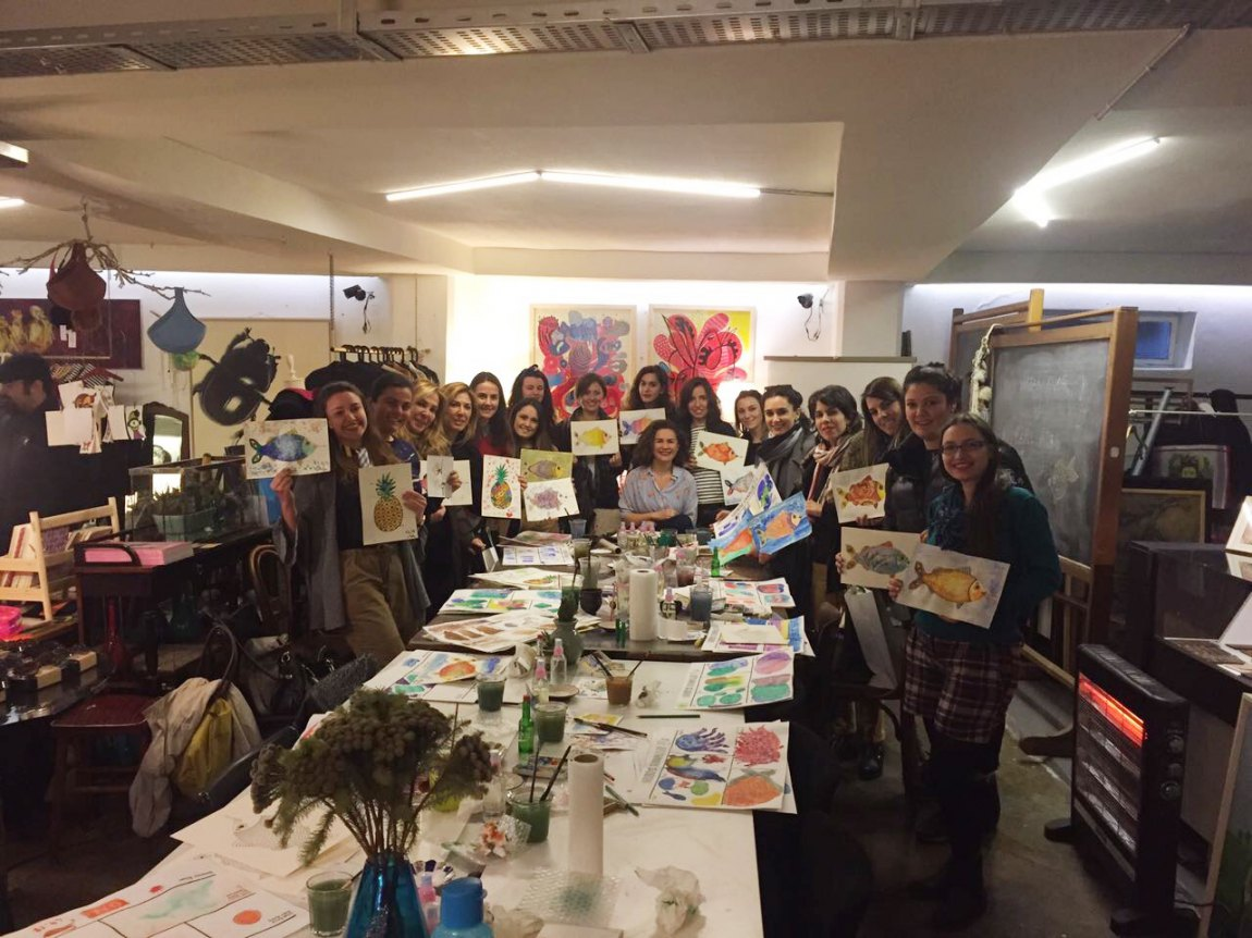 Watercolor Workshop - MaeZae 2017